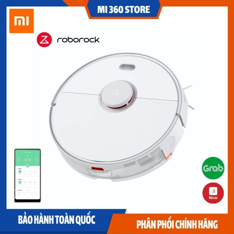 Robot hút bụi lau nhà Xiaomi Roborock S5 Max Quốc Tế Tiếng Việt