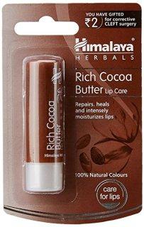 (HSD 31 10 2021) _ 2 cai Son Dưỡng Môi Tinh Chất Bơ CaCao - Himalaya Rich Cocoa Butter Lip Care 4.5g thumbnail