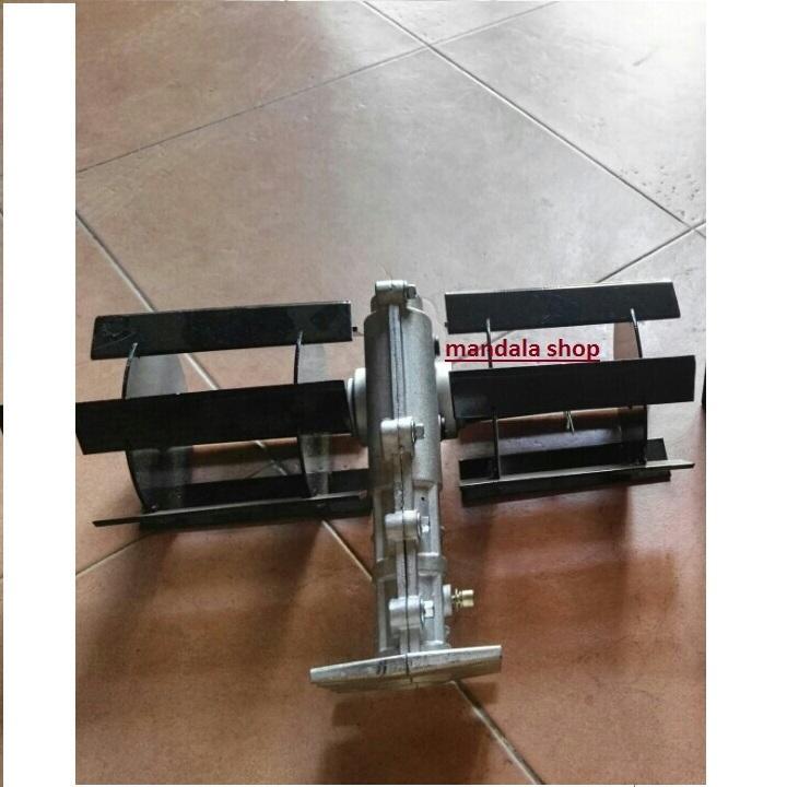 Đầu xạc cỏ cánh bằng, ống cần 28mm lắp cho máy 330,gx35..