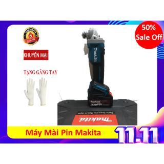 Máy Mài Pin Makita- Máy mài, máy cắt sắt Makita không chổi than thumbnail
