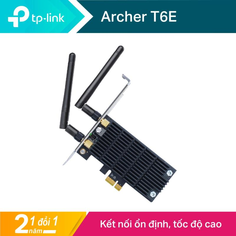 Giá TP-Link PCI Express Card wifi (Thu wifi) Chuẩn AC 1300Mbps Archer T6E - Hãng phân phối chính thức