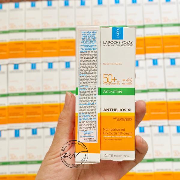 { HÀNG CÔNG TY - MINISIZE} Kem Chống Nắng La Roche Posay Anthelios XL Dry Touch Gel-Cream SPF50 Cho Da Dầu, Nhạy Cảm 15ML