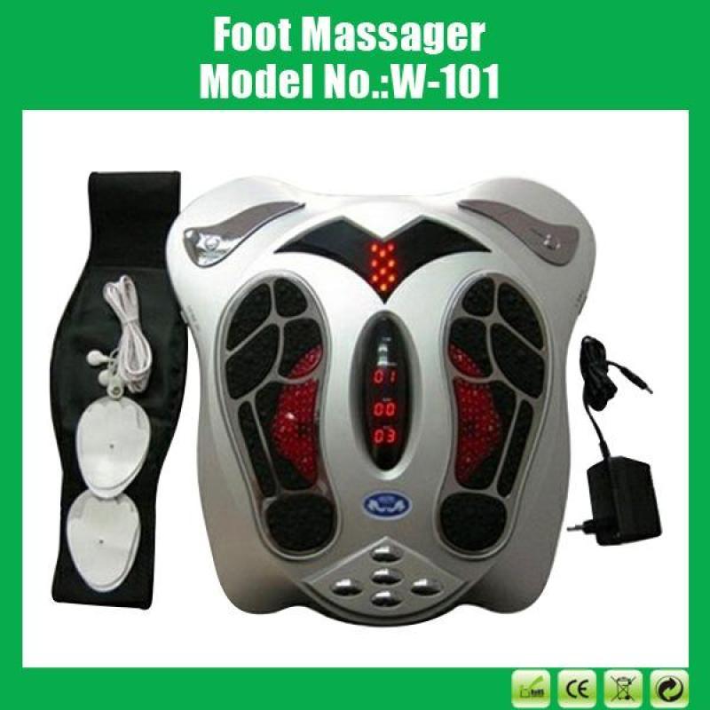 Máy massage xung điện tặng kèm đai giảm béo và 8 miếng dán điện cực nhập khẩu