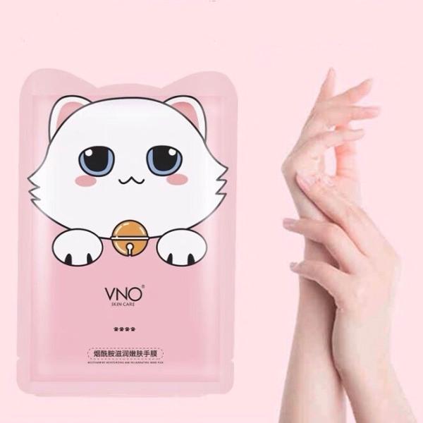 Mặt nạ tay mèo VNO tẩy da chết dưỡng ẩm Nicotinamide Moisturizing Rejuvenating Hand  Film VNO002 giá rẻ
