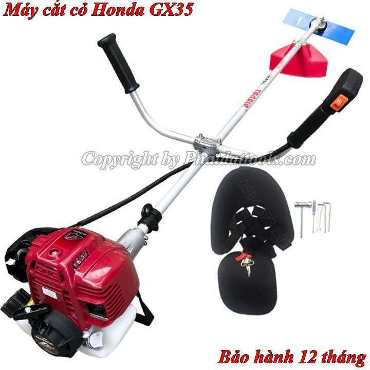 Máy cắt cỏ Honda GX35-Made in Thailand-Động cơ 4 thì tiết kiệm nhiên liệu-Bảo hành 12 tháng-Đầy đủ phụ kiện