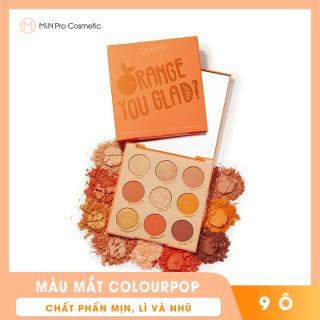 Bảng màu mắt Colourpop Orange You Glad Pressed 9 ô thumbnail