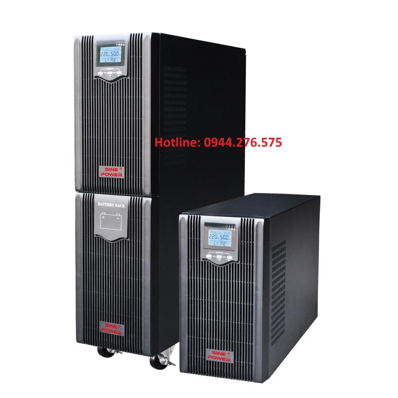 Bảng giá UPS online Sinepower 6kva Phong Vũ
