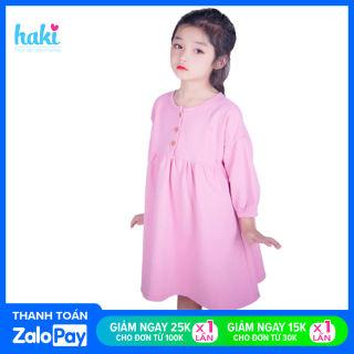 Váy bé gái Galaxy HAKI (11-30kg); đầm bé gái; đầm xòe bé gái, váy đi chơi cho bé; váy thiết kế cho bé gái