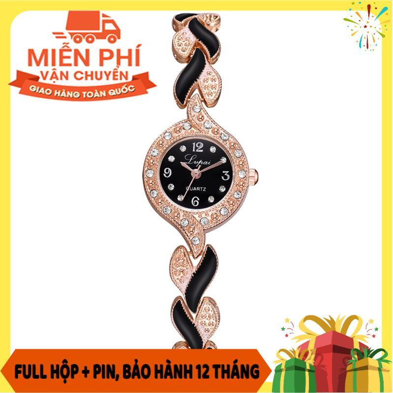 Nơi bán Đồng hồ nữ amawjt tròn viền đính đá thiết kế dây kim loại mặt trái tim khảm sứ LVPAI09 - Đồng hồ nữ - Đồng hồ nam nữ - Đồng hồ đẹp - ĐỒng hồ nữ giá rẻ - Đồng hồ nữ đẹp