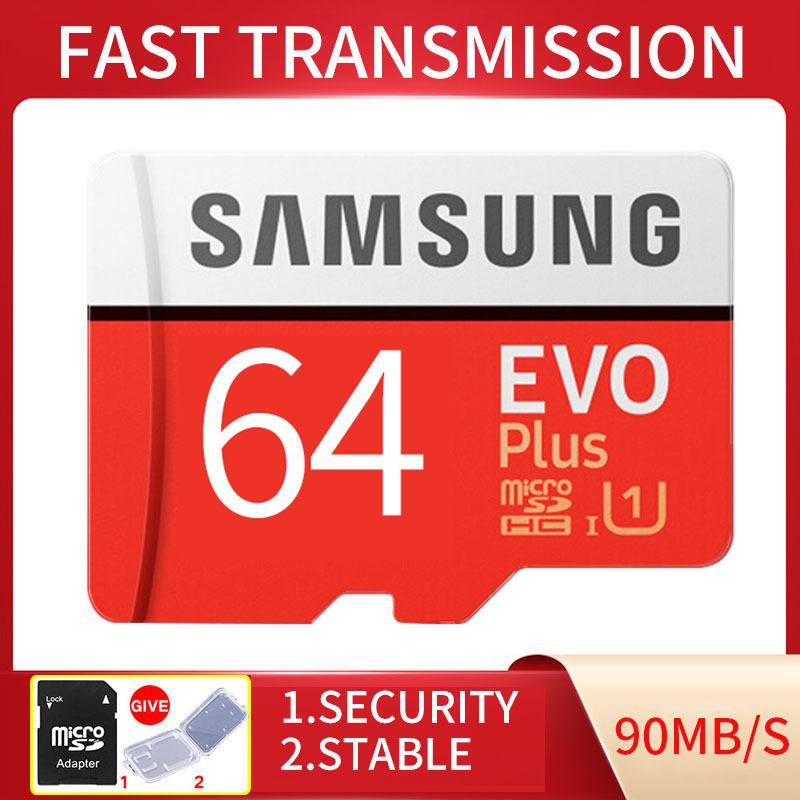 Thẻ nhớ MicroSDXC Samsung EVO Plus Adapter 64GB 100MB/s (New)