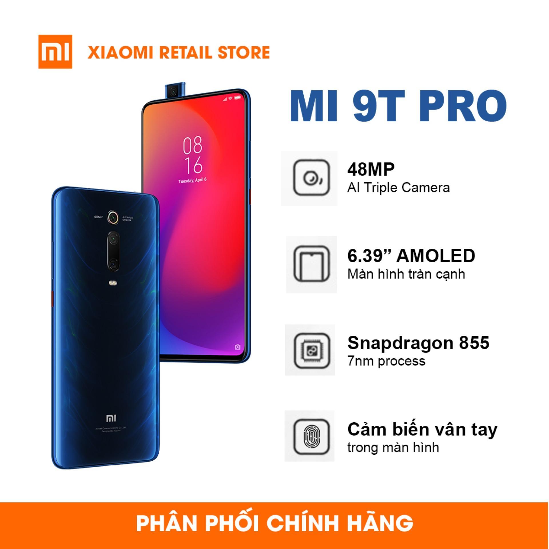 Điện Thoại Xiaomi Mi 9T Pro (6GB/128GB) - Chip xử lý Snapdragon 855, Camera selfie Pop-up, Bộ 3 camera 48MP AI - Hàng chính hãng