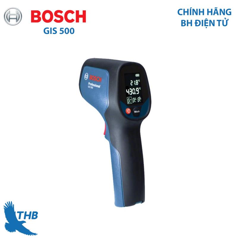 Máy đo nhiệt độ Bosch GIS 500 đo lên đến 500 độ cho thiết bị nguồn nhiệt, hàng chính hãng bảo hành điện tử 6 tháng