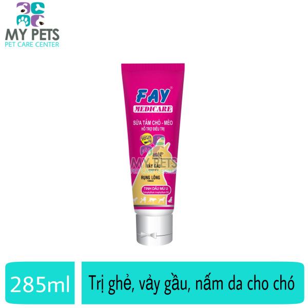 FAY MEDICARE sữa tắm ghẻ, vảy gầu, nấm da cho chó - FAY MEDICARE 285ml