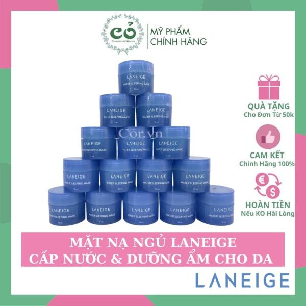 Mặt nạ ngủ Laneige Water Sleeping Mask cam kết sản phẩm đúng mô tả chất lượng đảm bảo an toàn cho người sử dụng cao cấp