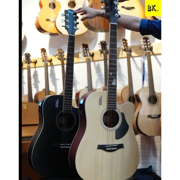Mẫu đàn Guitar siêu đẹp siêu vip Guitar Rosen G12F - GUITAR CHÍNH HÃNG
