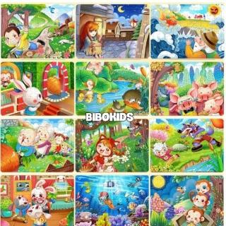 Xếp hình puzzle tranh gỗ 60 mảnh cho bé, sản phẩm tốt, chất lượng cao, cam kết như hình, độ bền cao thumbnail