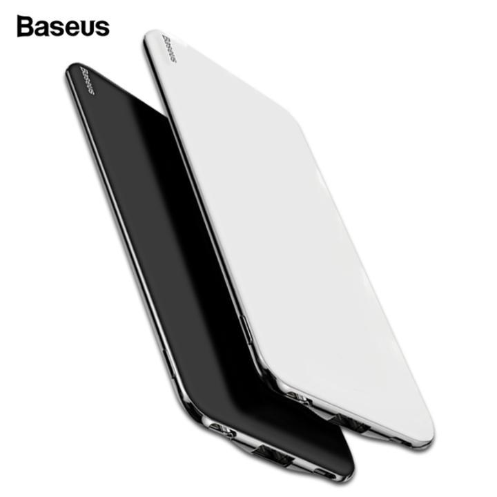 Pin sạc dự phòng nhãn hiệu Baseus PPYZ-C01 Power Bank 10,000mAh cho Smartphone/ Tablet tự ngắt khi đầy pin ( Màu đen)
