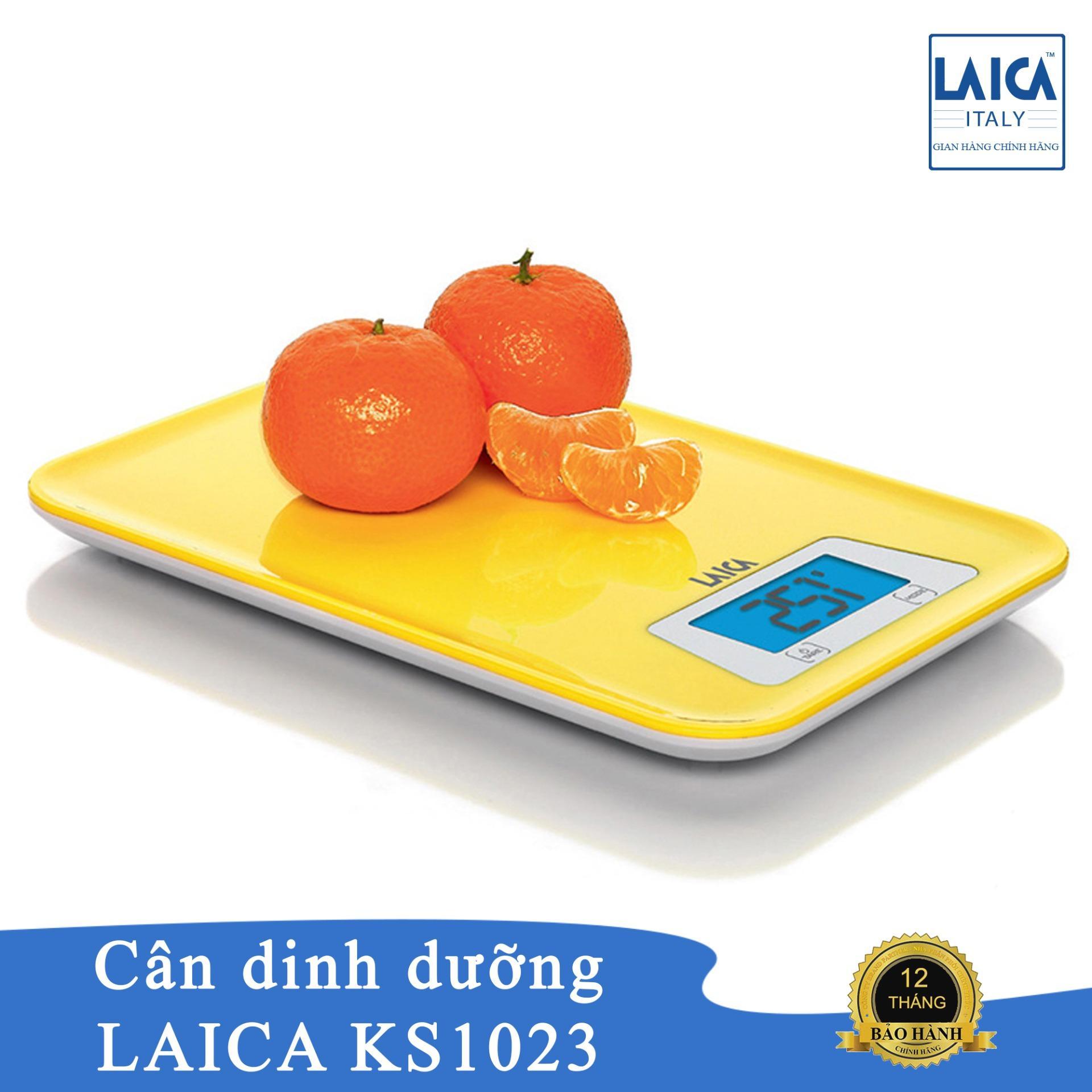 Cân nhà bếp điện tử cảm ứng Laica KS1023 nhập khẩu