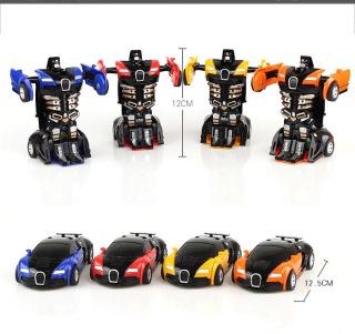 Đồ Chơi Biến Hình Thể Thao 2 Trong 1 Robot Xe Hơi Xe Thể Thao Bé Trai Bugatti thumbnail