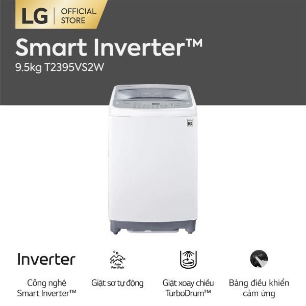 Bảng giá [FREESHIP 500K TOÀN QUỐC] LG Smart Inverter™ Máy giặt lồng đứng 9.5kg (Trắng) T2395VS2W Điện máy Pico