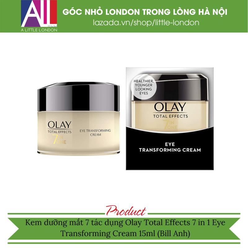 Kem dưỡng mắt 7 tác dụng Olay Total Effects 7 in 1 Eye Transforming Cream 15ml (Bill Anh)