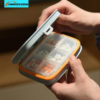 HMROVOOM Hộp đựng thuốc di động hộp đựng thuốc một tuần hộp đựng thuốc hộp đựng thuốc di động thumbnail