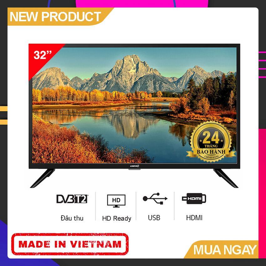Bảng giá Tivi Led Asanzo 32 inch HD - Model 32AT120 HD Ready, Tích hợp DVB-T2 - Bảo Hành 2 Năm