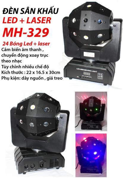Đèn sân khấu Led + Laser MH-329
