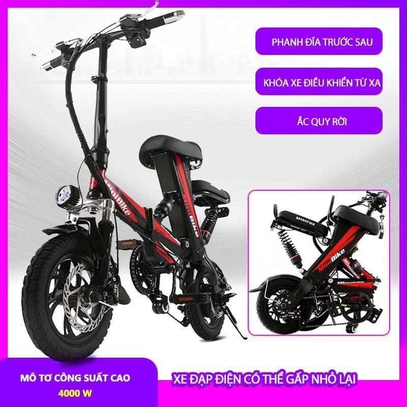 Phân phối Xe đạp điện siêu nhẹ có thể gập lại, xe điện mini nam nữ pin lithium, xe đạp điện cỡ nhỏ