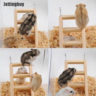 Sản Phẩm Phụ Kiện Chơi Game Jettingbuy, Bậc Thang Hamster Bằng Gỗ, Dành Cho Đồ Chơi Leo Trèo 3