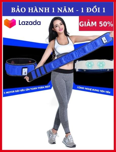 Đai massa bụng x5 (xanh) cao cấp - (shop) Công nghệ mát-xa hiện đại, Thúc Đẩy Tuần Hoàn Máu, Kích Thích Đánh Tan Mỡ 100- - Bảo Hành 1 Đổi 1