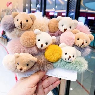 Cột Tóc Lông Xù Cao Cấp Đính Gấu Siêu Cute thumbnail