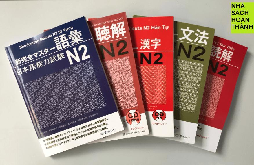 Trọn Bộ Sách Shinkansen Masuta N2 (Trọn Bộ 5 Cuốn-5 Kỹ Năng) - Bản Tiếng Việt Đang Có Khuyến Mãi