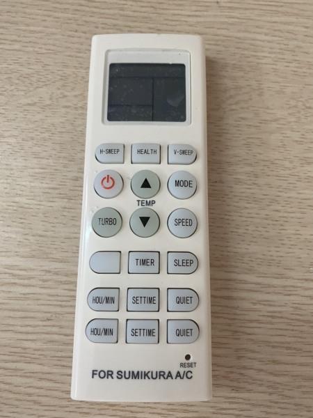 Điều khiển điều hòa Sumikura dài-Remote máy lạnh Sumikura