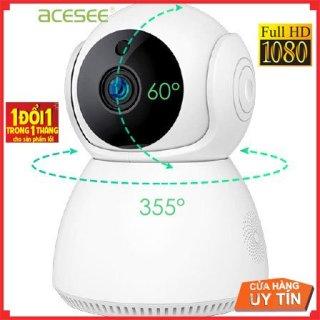 Camera wifi trong nhà Acesee AC01 chính hãng quay 355 đàm thoại 2 chiều 2.0Mp thumbnail