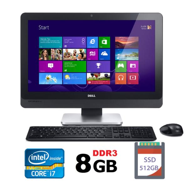 Bảng giá [Trả góp 0%]Máy tính All-in-One Dell Optiplex 9010 intel i7-3770 Ram 8GB  SSD 512 GB Màn 23  Full HD kèm phím chuột không dây tích hợp webcam và loa máy tính liền khốicây máy tính liền màn Phong Vũ