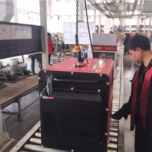Máy Phát Điện Chạy Dầu 5.5kVA Koop KDF7500XE