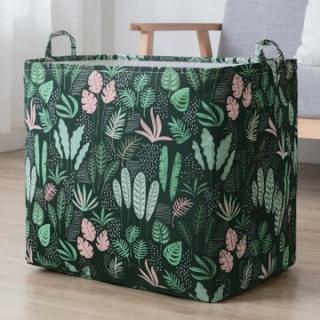 Túi đựng chăn màn quần áo khung thép mới nhất 2020 -Túi đựng chăn màn khổng lồ- họa tiết vintage cực xinh, độc đáo thumbnail