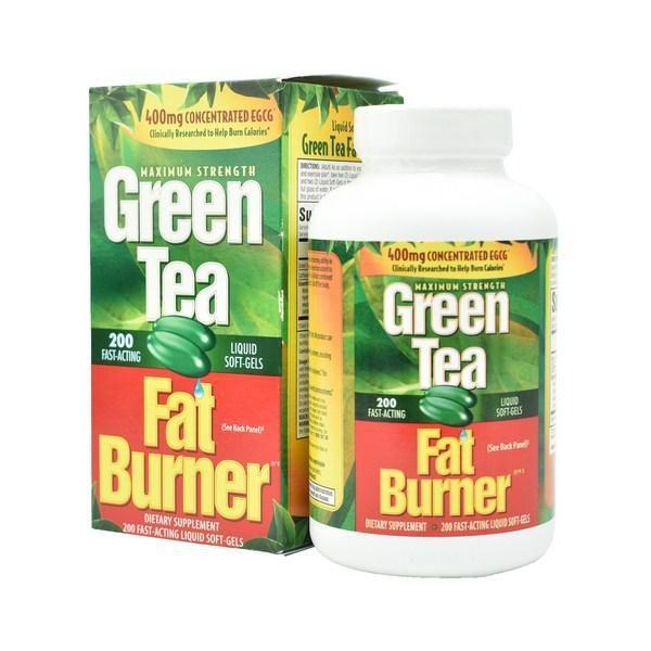 Trà giảm cân Green Tea Fat Burner của Mỹ 200 viên