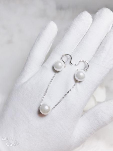 Bộ trang sức bạc ta mặt ngọc trai sang trọng, kiểu dáng tinh tế, thiết kế tỉ mỉ từng chi tiết dễ dàng phối hợp với nhiều trang phục