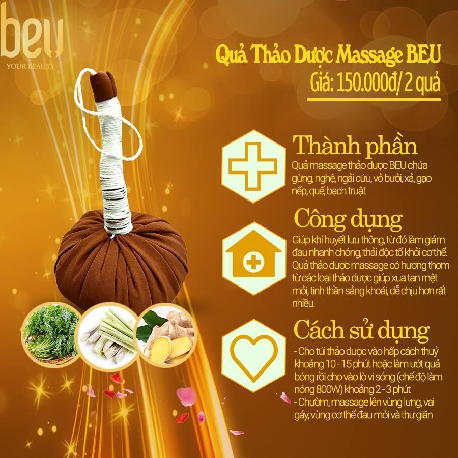 Quả Thảo Dược Massage BEU - 150K/2 quả nhập khẩu