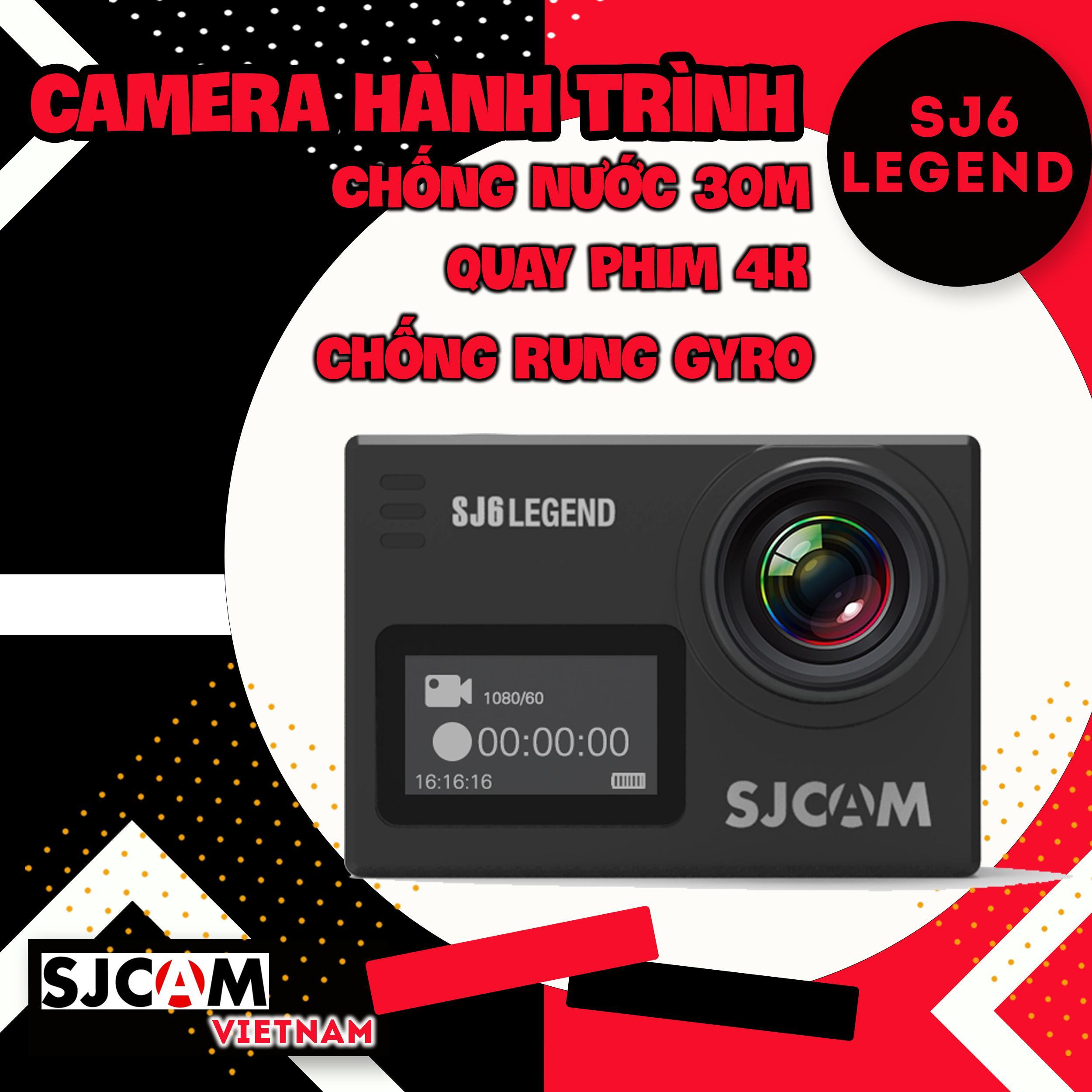 Camera Hành Trình SJCAM SJ6 LEGEND 4K WiFi - Hãng Phân Phối Chính Thức Giá Hot Siêu Giảm tại Lazada