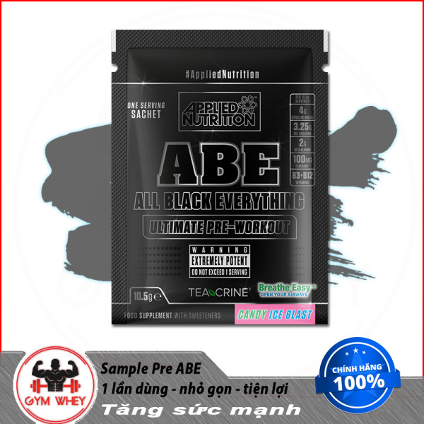 Gói Thử Sample APPLIED NUTRITION ABE Pre Workout 1 Lần Dùng(11 Gram)