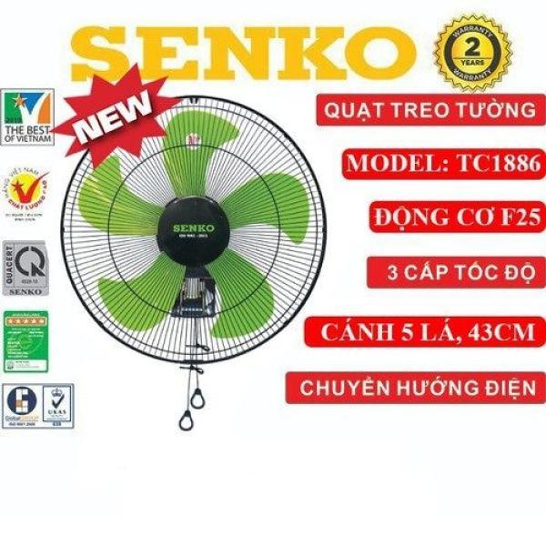 QUẠT TREO TƯỜNG CÔNG NGHIỆP SENKO TC1886