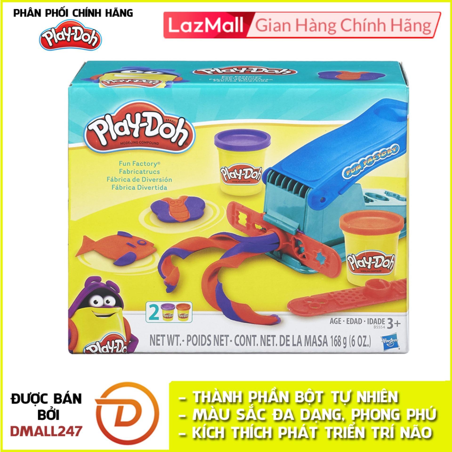 Voucher tại Lazada cho Bộ Bột Nặn Tạo Hình Nhà Máy Vui Vẻ Play-Doh B5554