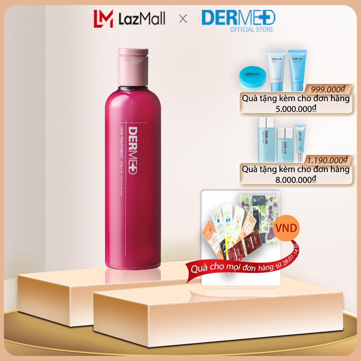 Dầu xả phục hồi cấu trúc tóc hư tổn Dermed Hair Treatment 240ml