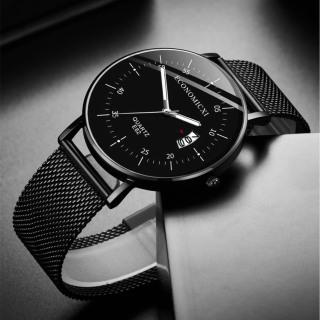 Đồng hồ nam dây thép chống nước mặt chống xước ECONOMICXI ECO89 thumbnail