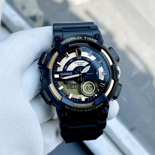 Đồng hồ nam thể thao Casio chính hãng AEQ-110BW-9A Bảo hành 1 năm- Pin trọn đời Hyma watch