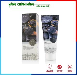 [Hàng Nhập Khẩu Hàn Quốc] Sữa rửa mặt trắng da và làm sạch chiết xuất từ than hoạt tính 3W Clinic Hàn Quốc 100ml thumbnail