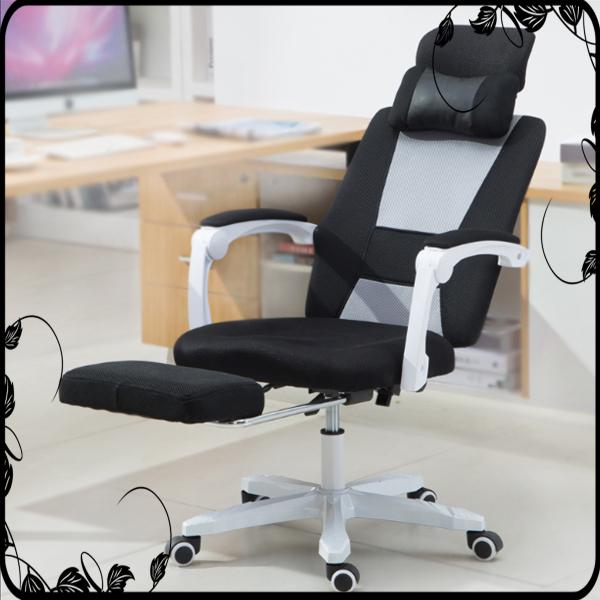 (MẪU MỚI) Ghế văn phòng , ngả lưng gác chân mẫu phối màu chân sắt giá rẻ